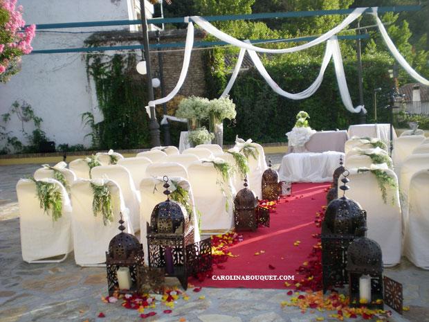 Decoracion de bodas civiles en granada originales for Arreglos para boda civil
