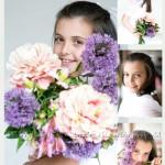 12. Decoracion de Comuniones - Flores de Comunion