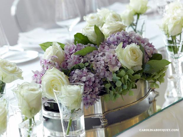 Centros de mesa para bodas en granada flores y otros - Centros de mesa para boda ...