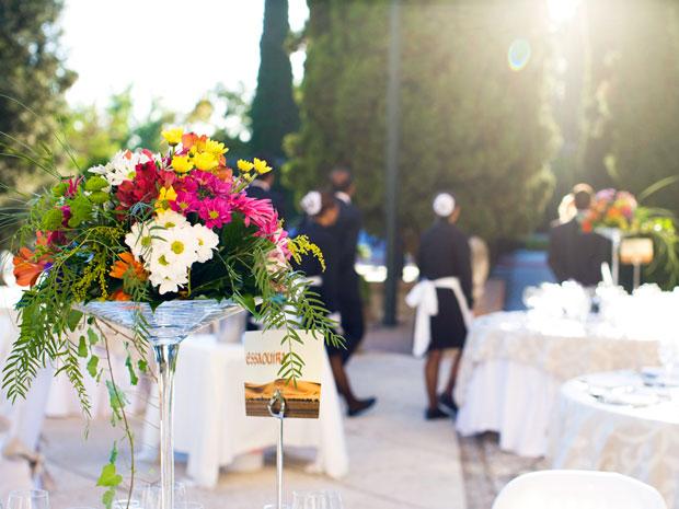 Centros de mesa para bodas en granada flores y otros for Jm decoracion granada