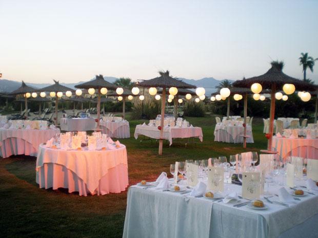 Decoraci n de boda en granada palacios restaurantes - Decoracion en granada ...