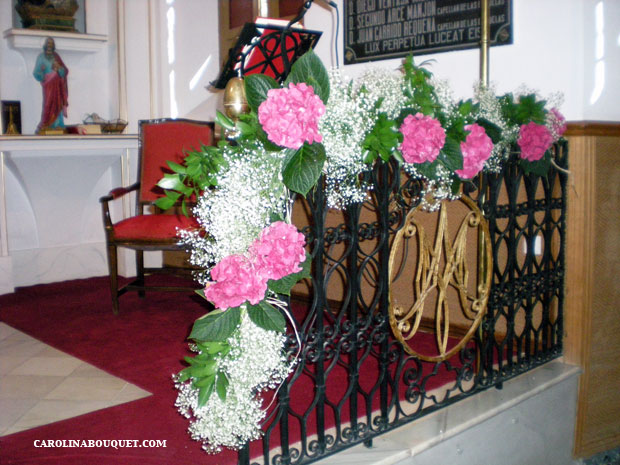 Decoraci n de iglesias para bodas en granada decorar iglesia - Decoracion en granada ...