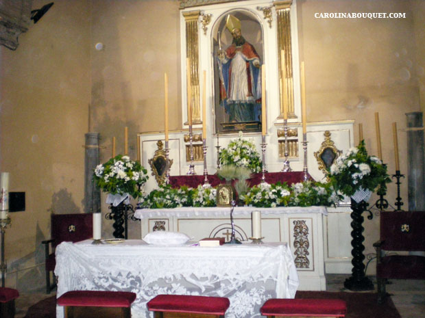 Decoraci n de iglesias para bodas en granada decorar iglesia - Decoracion granada ...