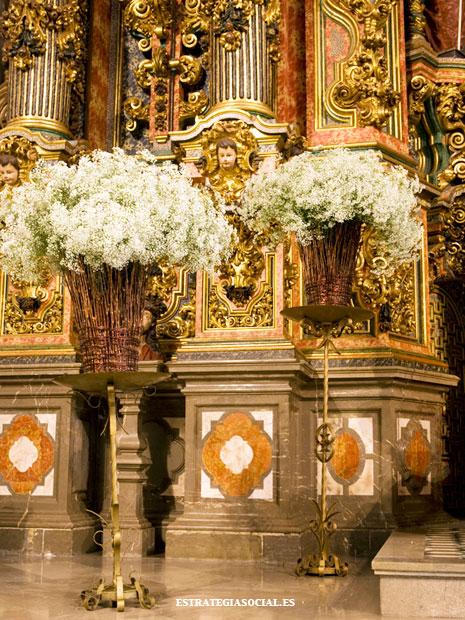 decoraci243n de iglesias para bodas en granada decorar iglesia