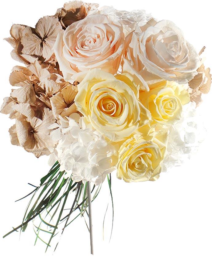 ramo de flores liofilizadas original