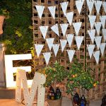 seating plan para bodas con triangulos