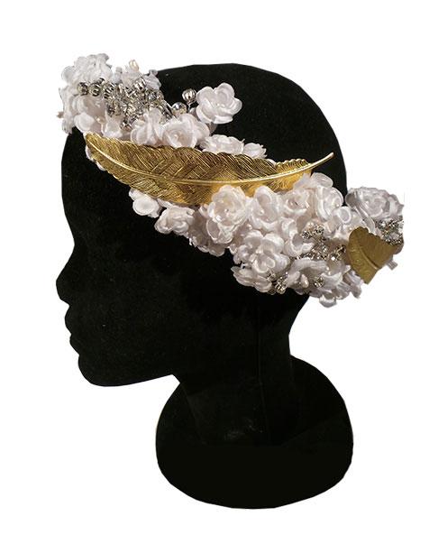 sombreros y tocados florales en Granada