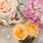 flores para mesas de invitados en Granada