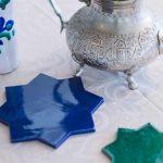 elementos de decoración nazarí para centros de mesa