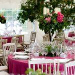 decoración romántica para celebraciones