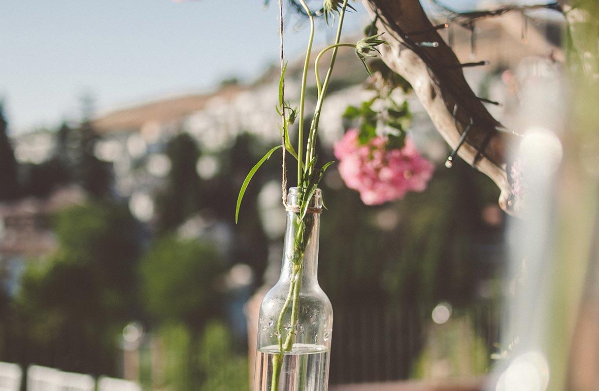Flores para bodas vintage