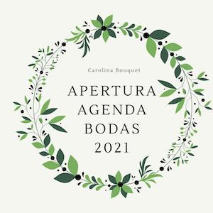 Reservas decoración floral para bodas en Granada 2021