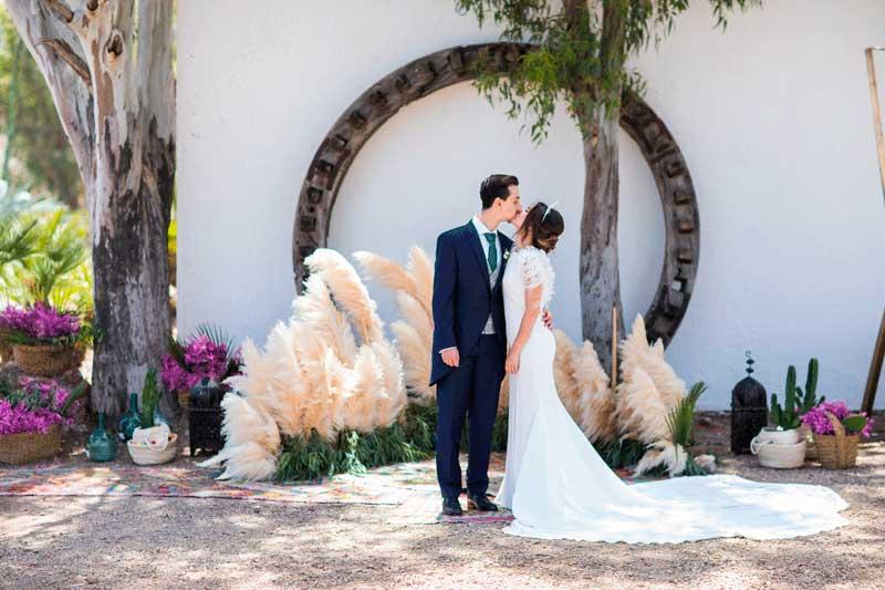 Decoraci n floral estilo desierto y cactus para boda en - Decoracion almeria ...