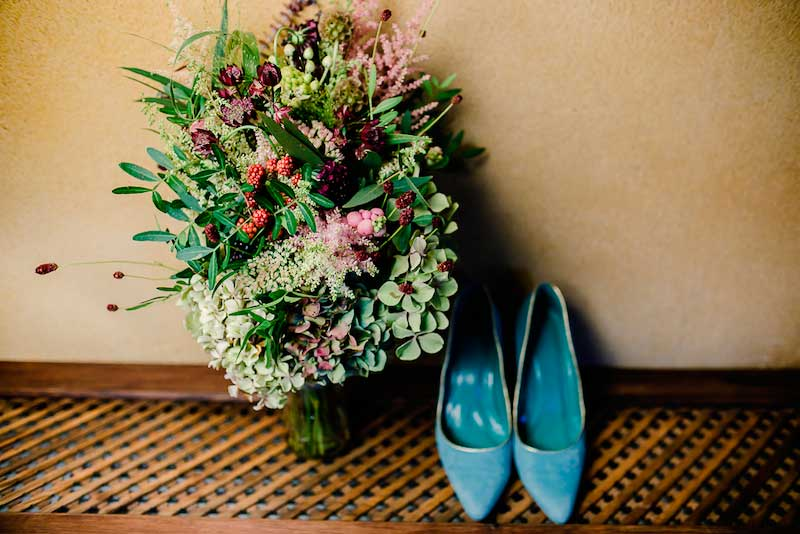 Ramo de novia de Carolina Bouquet para la boda de Ana y José Manuel