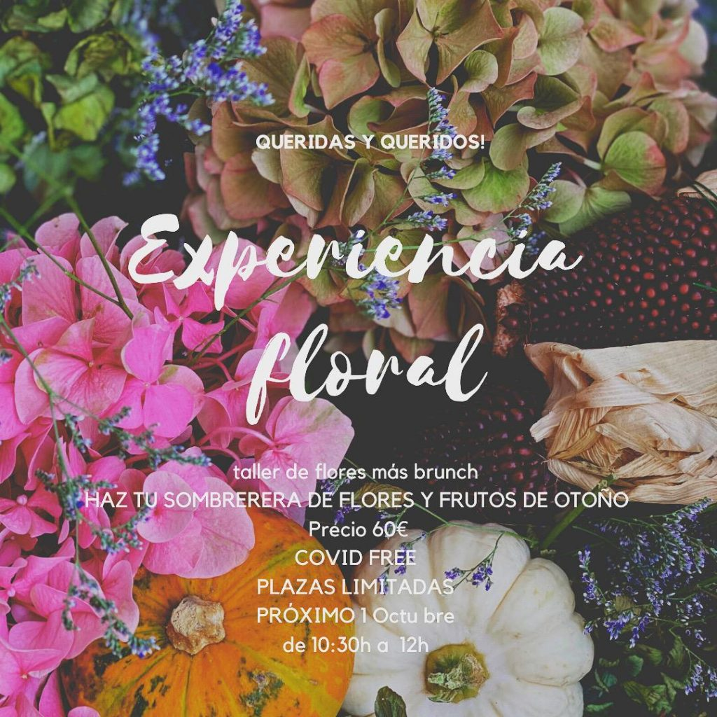 taller floral de Carolina Bouquet en Granada